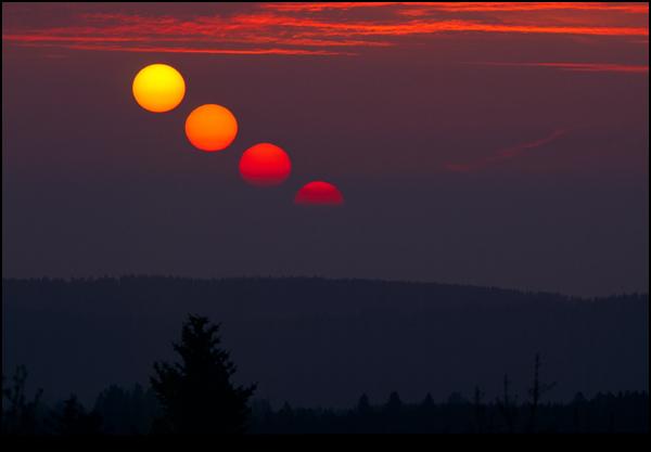 Lever et coucher du soleil - Quelle heure se couche le soleil ...